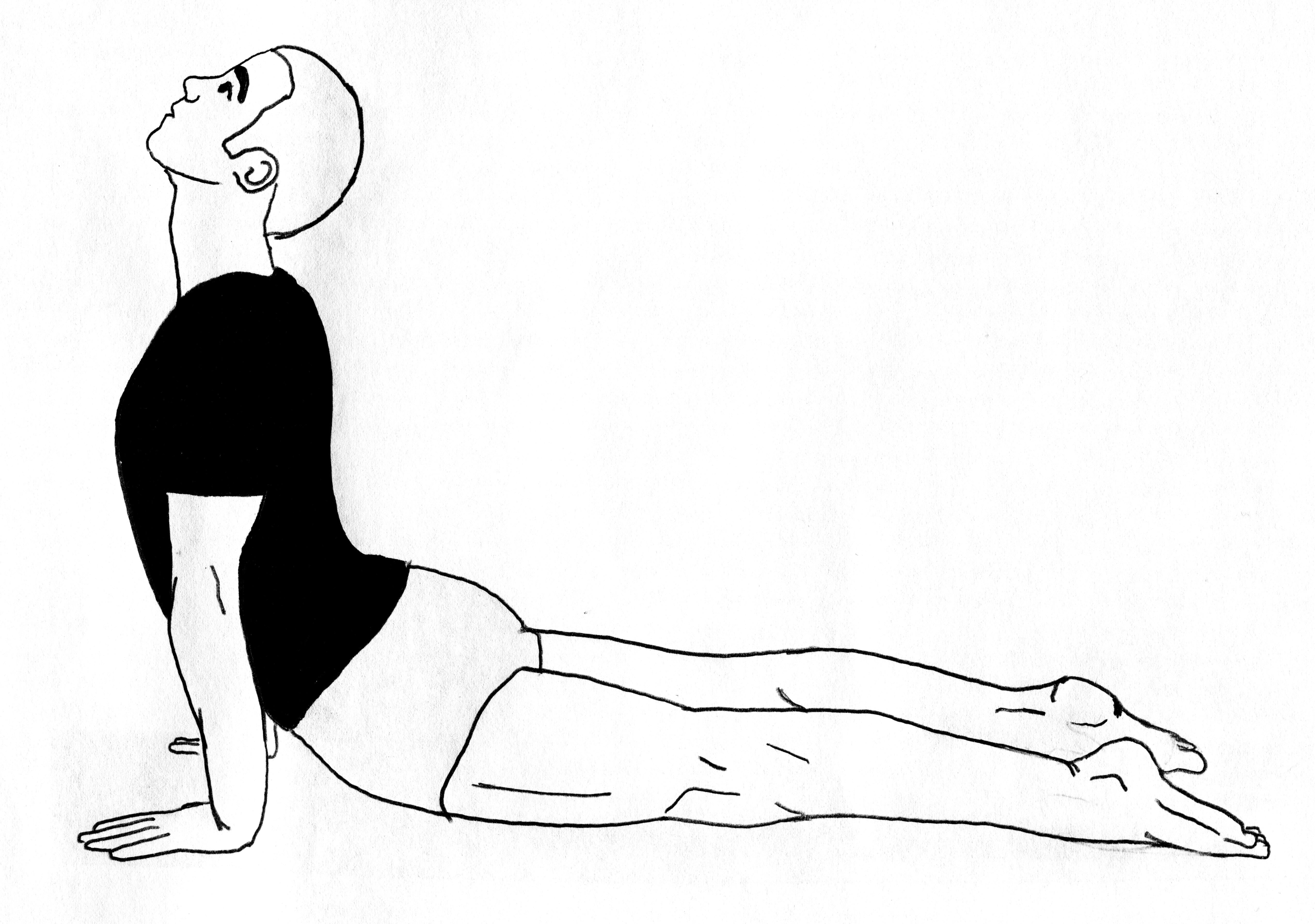 Asana lying down – chadyoga